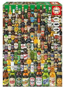 Beer Bottles of the World 1000 piece jigsaw puzzle 680mm x 480mm  (pl)